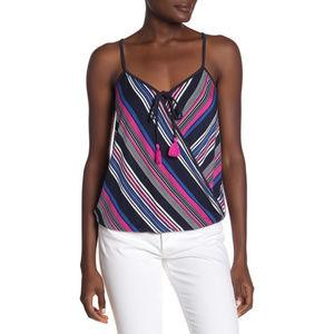 🆕 NWT 🥳 Tart striped tassel Chandi top